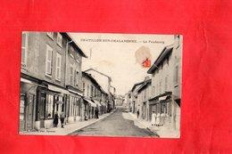 Carte Postale - CHATILLON SUR CHALARONNE - D01 - Le Faubourg - Châtillon-sur-Chalaronne