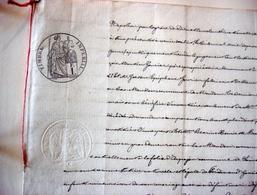 Jugement De 1868 Sous Napoléon - Manuscrits