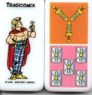 Astérix Tragicomix Figurine BD Domino Jeu - Jeux De Société
