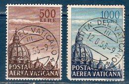 Vaticano / Vatican City 1953 Cupoloni 1°--   US. - Posta Aerea