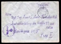 A5758) DR Böhmen & Mähren Brief Herzogenaurach 17.8.42 An Zentralbauleitung Prag - Briefe U. Dokumente