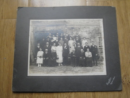 Photo Originale Sur Carton épais Par EXERTIER RUMILLY Haute Savoie Mariage Beau Format - Photographs