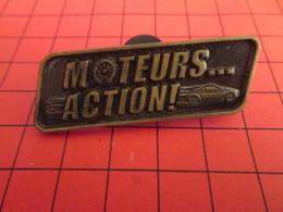 DIS-SPE Pin's Pins : BEAU ET RARE : DISNEY Très Grand Pin's MOTEURS .... ACTION - Disney