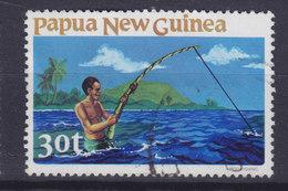 Papua New Guinea 1981 Mi. 420  30 T Fishing Fischen - Papouasie-Nouvelle-Guinée