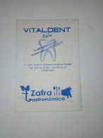 Servilleta,serviette .Zafra Gastronômica,Espanha - Serviettes Publicitaires