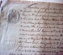Jugement De 1866 Sous Napoléon - Manuscrits