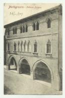 PORTOGRUARO - PALAZZO FOLIGNO 1909  - VIAGGIATA FP - Venezia