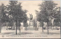 Gent - Gand - Le Marchè Du Vendredi Et La Statue De Jacques Van Artevelde - HP1581 - Gent