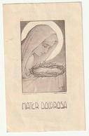 Décès Eugène EVERBECQ Curé De Petit-Wasmes Saint-Ghislain 1883 - 1954 Imalit Maredret 22 A - Images Religieuses