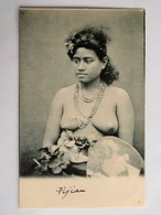 C.P.A. : Fidji : A Fijian Girl, Topless, Naked, SUPERBE - Fidji