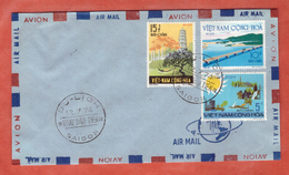 VIETNAM DU SUD FDC TOURISME DE 1974 DE SAIGON - Viêt-Nam