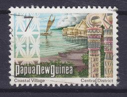Papua New Guinea 1973 Mi. 247  7c. Coastal Village Pfahldorf - Papouasie-Nouvelle-Guinée