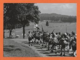 SCOUTISME En SUISSE-VERITABLE PHOTO !!! Et Non Carte Postale !!! 17X12Cm-Photographe FERNAND PERRET, La Chaux-de-Fonds - Scoutisme