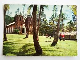 C.P.A. : Nouvelle Calédonie : Paysage De La Côte Est, Eglise Rurale Saint-Paul, En 1972 - Nouvelle-Calédonie