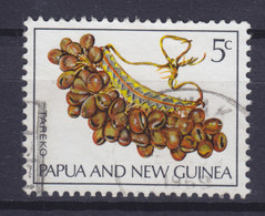 Papua New Guinea 1969 Mi. 167  5c. Musikinstrumente Music Instrument Tareko (Rassel) - Papouasie-Nouvelle-Guinée