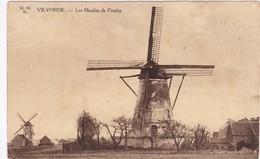 Vilvorde, Les Moulins De Peuthy, 2 Scans - Vilvoorde