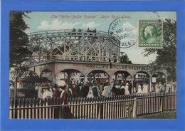 """ETATS UNIS - Connecticut, SAVIN ROCK The """"Roller-Boller Coaster, Manège, Grand Huit (voir Descriptif) - Etats-Unis"""