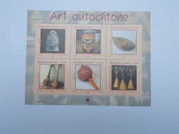 LOT DE 6 TIMBRES NEUFS : ART AUTOCHTONE - Office De Genève