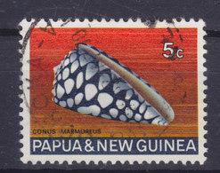 Papua New Guinea 1968 Mi. 142  5c. Meeres Schnecke Shell - Papouasie-Nouvelle-Guinée