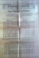 Germany 2. Mai 1945 / Der Führer Gefallen / Hamburger Zeitung / Sonder Ausgabe - Magazines: Abonnements