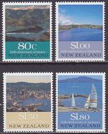 Série De 4 TP Neufs ** N° 1072/1075(Yvert) Nouvelle-Zélande 1990 - Tourisme - Nouvelle-Zélande