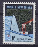 Papua New Guinea 1967 Mi. 115  5c.Wasserkraftwerk Wasserwirtschaftsplan Hydro Power - Papouasie-Nouvelle-Guinée
