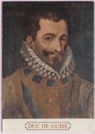 CPM - DUC De GUISE - Portrait - Personnages Historiques
