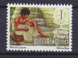 Papua New Guinea 1973 Mi. 244  1c.Holzschnitzer Wood Carver MNG - Papouasie-Nouvelle-Guinée