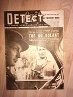 Détective 1949 153 MEYREUIL TRAVERSAY CHAUNAY CRéHANGE VAUCHELLE LES AUTHIES BECORDEL MILLENCOURT DICONNE SAINT MARTIN S - Boeken, Tijdschriften, Stripverhalen