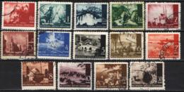 CROAZIA - 1941 - VEDUTE E PAESAGGI DELLA CROAZIA - USATI - Croazia