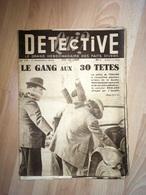 Détective 1949 175 MAUBERT-FONTAINE LES ANGLES NICE MONTELEPRE DIEPPE TOULON - Boeken, Tijdschriften, Stripverhalen