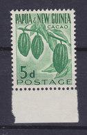 Papua New Guinea 1952 Mi. 9  5d. Zweig Der Kakao-baumes MNH** - Papouasie-Nouvelle-Guinée