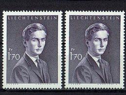 Liechtenstein 1964 // Mi. 439 ** 2x - Liechtenstein
