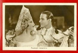 MOVIE STAR RUDOLPH VALENTINO # 1767/1 VINTAGE PHOTO PC. PUBLISHER GERMANY 1140 - Schauspieler