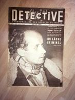 Détective 1951 264 PHALEMPIN LAUBRESSEL AUXANCES ANZIN ROQUE SUR PERNES BEYNES - Boeken, Tijdschriften, Stripverhalen