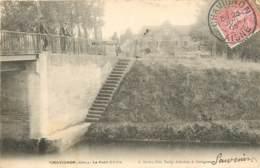 02 - CHAVIGNON - Le Pont D'Aille En 1905 - Altri Comuni