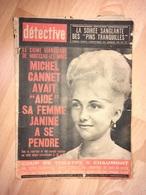 Détective 1965 999 BILLERE REVIN BREVAL ARCACHON MONTCEAU LES MINES CHAUMONT - Boeken, Tijdschriften, Stripverhalen