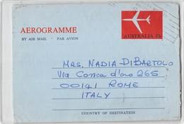 11982 N.4 AEROGRAMME AUSTRALIA - Aerogrammi