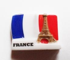 Fève Pays  France Drapeau Tour Eiffel - Countries