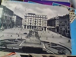 SAVONA - Piazza G. Mameli - Mon. Ai Caduti, Autobus V1950 GY6258 - Other Cities