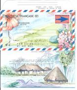 """Polynésie Aerogramme YT 9 """" Embleme Postal 76F """" 1990 Neuf** - Aérogrammes"""