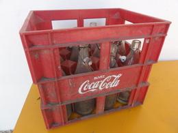 Caisse Coca Cola Coke Bouteille - Autres Bouteilles