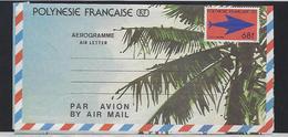 """Polynésie Aerogramme YT 7 """" Embleme Postal 68F (gros) """" 1988 Neuf** - Aérogrammes"""