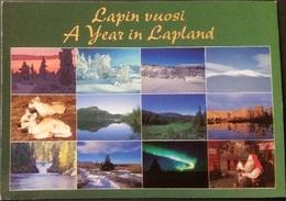 Ak Finnland - Lapland - Ein Jahr In Lapland - Finlande