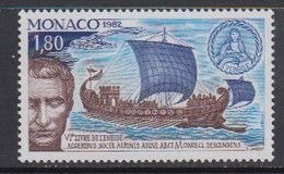 Monaco 1982 Death Of Virgil 1v ** Mnh (41468F) - Monaco