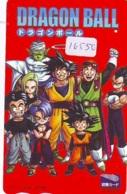 Carte Prépayée Japon * MANGA * DRAGON BALL (16.550) COMIC * ANIME Japan Prepaid Card * CINEMA * FILM - Comics