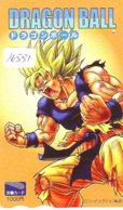 Carte Prépayée Japon * MANGA * DRAGON BALL (16.551) COMIC * ANIME Japan Prepaid Card * CINEMA * FILM - Comics