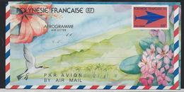 """Polynésie Aerogramme YT 8 """" Embleme Postal 68F (petit) """" 1989 Neuf** - Aérogrammes"""