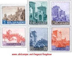 San Marino 1966 Serie Paesaggi - San Marino