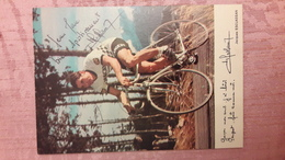 Jacques ESCLASSAN BP Peugeot Autographe Manuscrit Glacée - Cycling